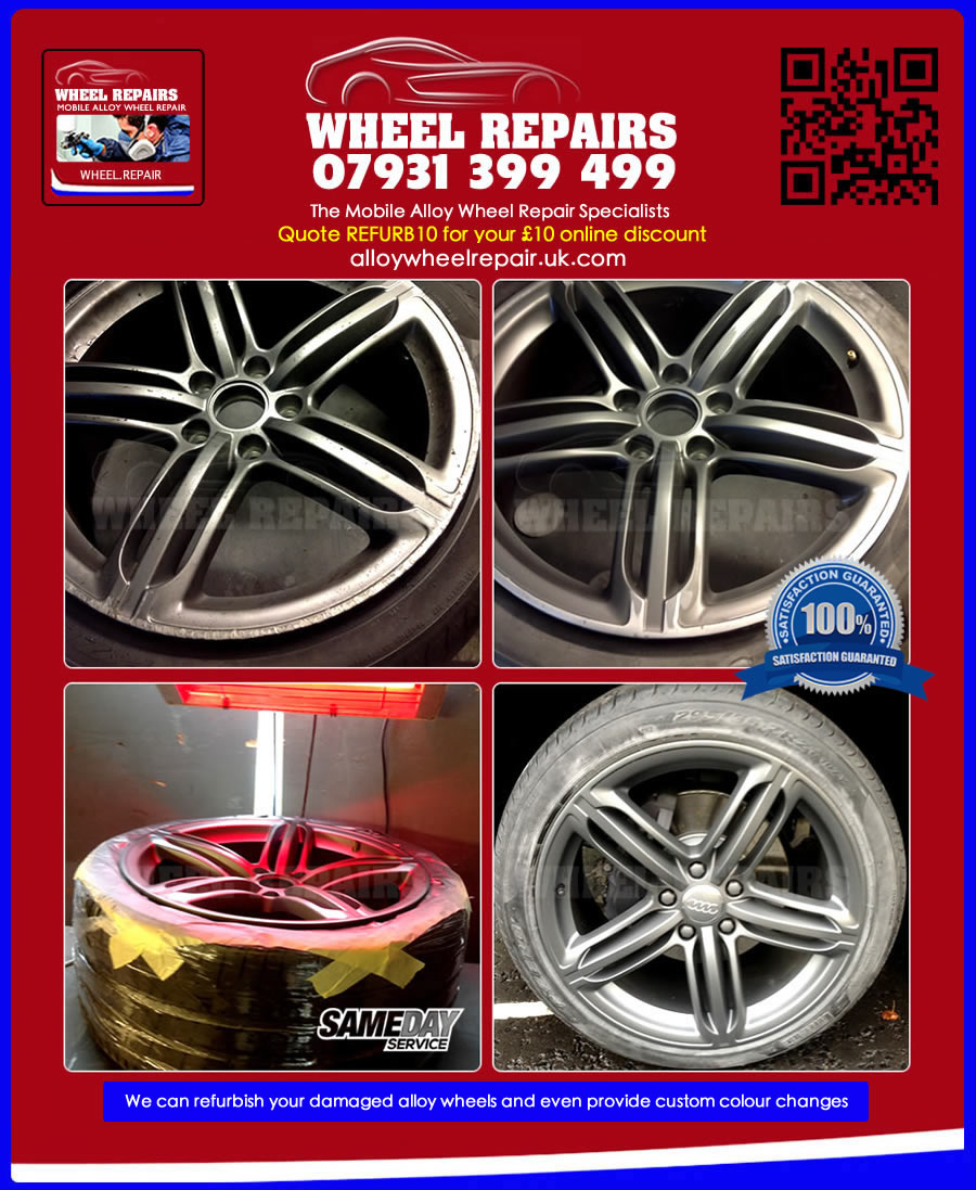 Mobile Wheel Repair : Mobile alloy wheel repair in new oxford street wc