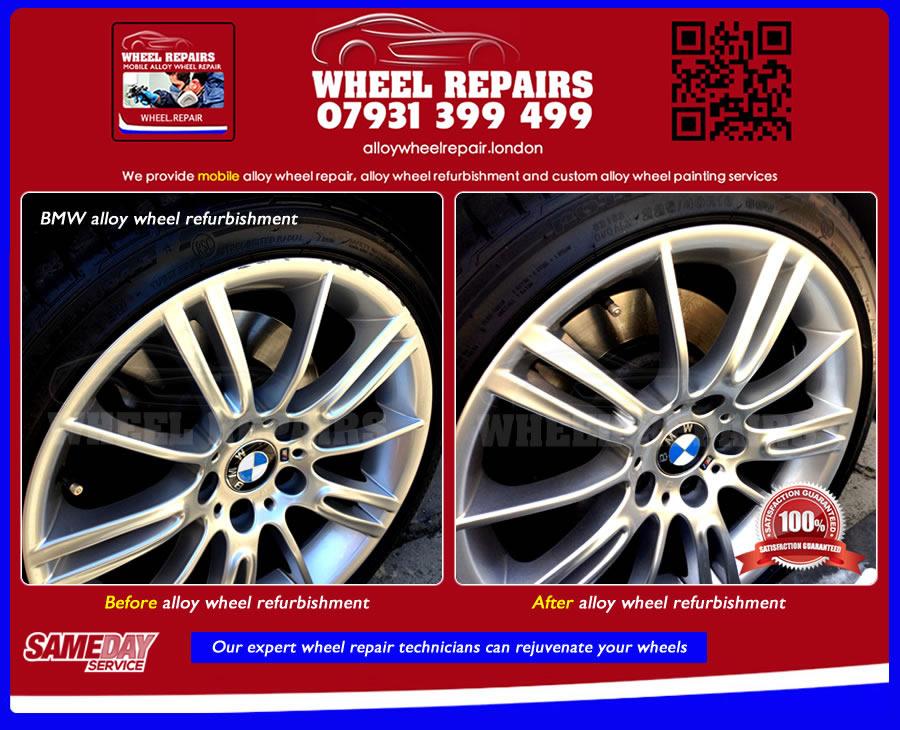 Alloy Wheel Repair - Alloy Wheel Refurbishment - Wheel ...